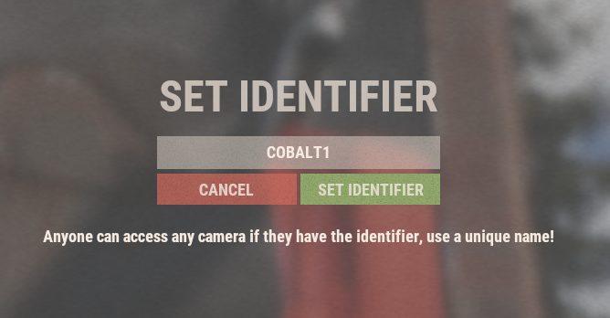 Rust - Todas las contraseñas de las cámaras CCTV