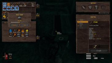 Cómo dividir y separar las pilas de objetos en Valheim