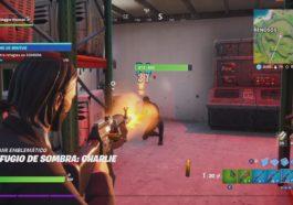 Fortnite - Dónde encontrar refugios de sombra 2