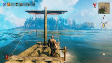 Valheim - Cómo construir el primer barco y cómo se controla 3