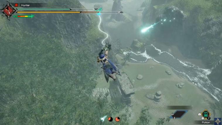 Cómo usar los movimientos y controles de Wirebug en Monster Hunter Rise