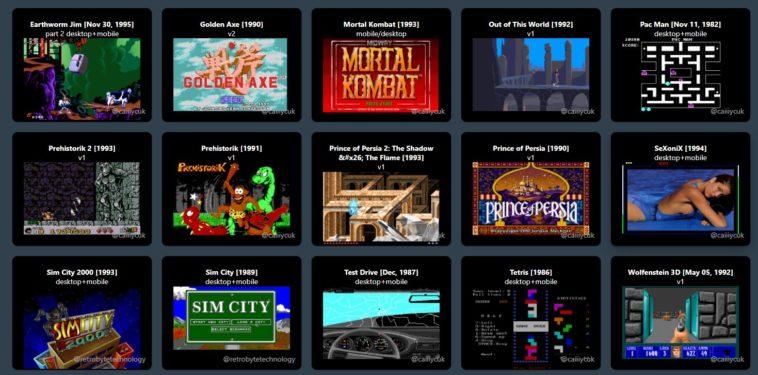 DOS.Zone - Una biblioteca para nostálgicos, los primeros juegos de PC en tu navegador o móvil 1