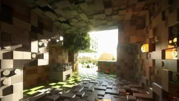Brixel - Dale a tu Minecraft un aspecto totalmente Lego