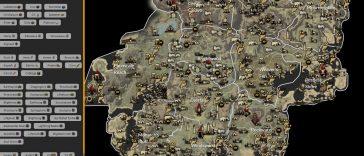 New World - Mapa interactivo