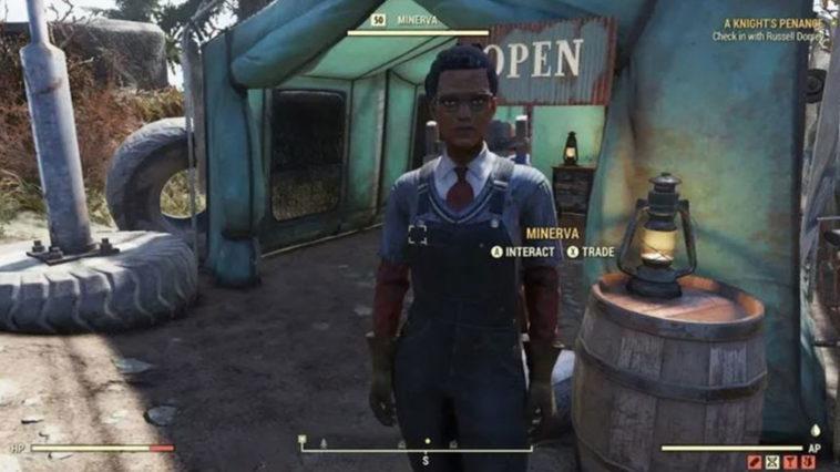Fallout 76 - Dónde encontrar a Minerva