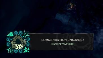 Sea of Thieves - Cómo desbloquear elogio de Aguas Secretas 1