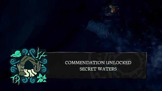 Sea of Thieves - Cómo desbloquear elogio de Aguas Secretas