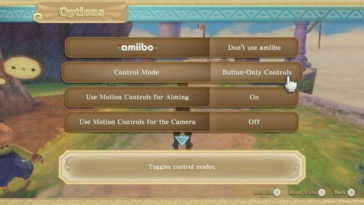 The Legend of Zelda: Skyward Sword HD - Cómo desactivar los Controles de Movimiento (Motion Controls)