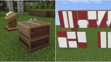 Minecraft - Cómo hacer un Telar 1
